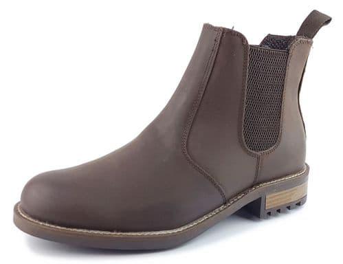 Frank James Loddington Leather Chelsea Boot Brown